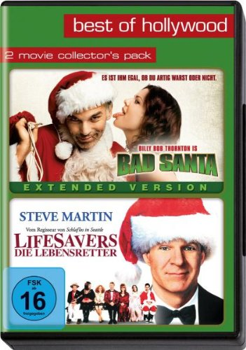 Best of Hollywood: Bad Santa / Lifesavers / Die Lebensretter [Collector Packs] [2 DVDs]