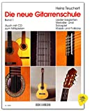 Heinz Teuchert École de guitare avec médiator - Apprentissage facile - Déclaration de toutes les opérations de jeu avec de nombreuses photos - Jeu mélodies avec vote d'apprentissage accompagné...