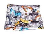 (15BM266) BAGGERS Kinder Kurz-LOOP-Schal (3-10) jährige Label brit-M-kids, Atelierarbeit aus Deutschland