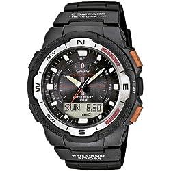 Casio Reloj Analógico/Digital de Cuarzo para Hombre con Correa de Resina – SGW-500H