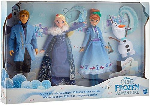 Hasbro Disney Die Eiskönigin C0449EU4 Olafs Holiday Adventure Wahre Freunde, (Kristoff Kostüm Anna)