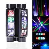 UKing Moving head, RGBW 8 * 10W LEDs Party Licht, Auto Spider DMX512 Control Spider B ühnenbeleuchtung für Dj Hochzeit Weihnachten Halloween Bar Konzert