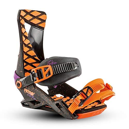 Nitro Snowboards Bindung Herren Zero Throwback, Schwarz, 38-44 -