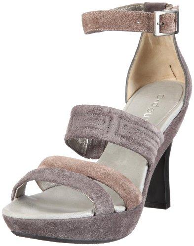 c-doux-5750-damen-sandalen-fashion-sandalen-grau-peltro-cocco-perla-eu-36
