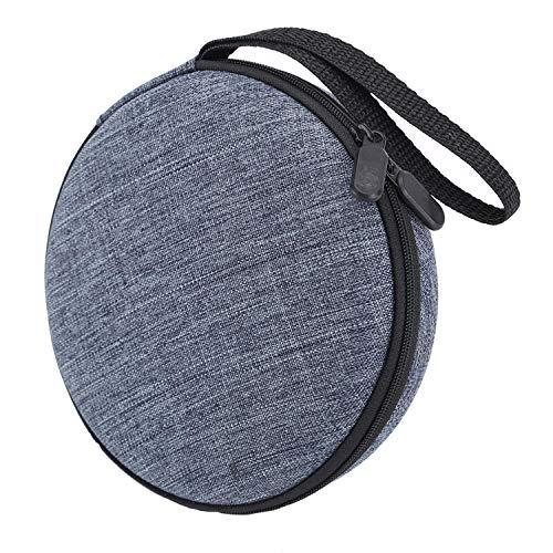 Tragbare robuste CD-Player-Tasche mit festem Tragegurt für die Aufbewahrung von Reisen Kompatibel mit dem HOTT CD-Player 511/611/711 / 611T dem Kopfhörer dem USB- und AUX-Kabel