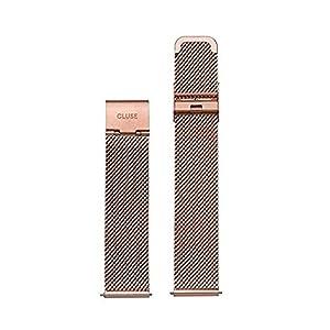 Cluse Damen Uhrenarmband Minuit Edelstahl goldfarben  CLS347