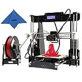Anet A8 Upgrade Impresora 3D Reprap Prusa I3 Kits de Bricolaje 2018 World Cup bola 220 * 220 * 240 mm con 8GB y 1 Rollo de Filamento PLA