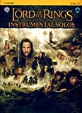 The Lord of the Rings, The Motion Picture Trilogy, w. Audio-CD, for Clarinet