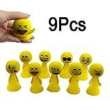 MAGIC SHOW 9pcs émoticons smiley saute elf outdoor jouets enfants don CJ508...