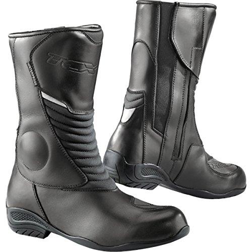 TCX Stivali Moto Lady Aura più Waterproof, Nero, Taglia 41