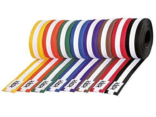 Kwon Taekwondo Judo Karate Gürtel Budogürtel 4 cm dreifarbig