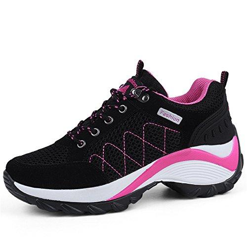 Ulogu Scarpe da Camminata Donna da Ginnastica Elegant Casual Sneakers Platform Dimagranti Sportive Fitness Shoes 35-42