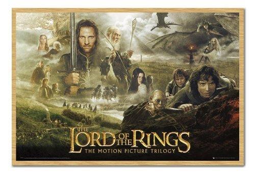 de-el-senor-de-los-anillos-poster-de-trilogy-pin-de-corcho-pizarra-haya-enmarcado-965-x-66-cms-aprox