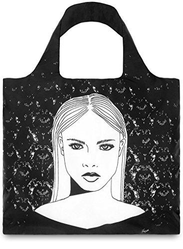 LOQI BG.LA Design-Einkaufstasche Boys und Girls, Laura