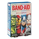 Best Band-Aid Bandages - Band-Aid® Avengers Assemble Bandages - First Aid Supplies Review
