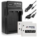 2 Batteries + Chargeur (Auto/Secteur) pour Pentax D-Li8 D-Li85, Optio A10 A20 A40 E65 L20 S S4...voir liste