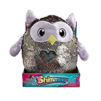 Shimmeez Large Reversible, Changeable, Sparkling Sequin Soft Plush Animal Toys, 4 Styles, 14 Inch