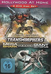 Mega Shark Versus Giant Octopus / Transmorphers - 2 DVD Set