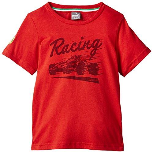 Puma SF Graphic Jungen T-Shirt 146 rot - Rosso Corsa