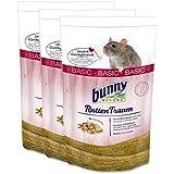 3 x 4 kg Bunny Nature Ratten Traum Basic RattenTaum Hauptfutter für Ratten