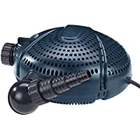 FIAP 2703Aqua Active 12.000, estanque, filtro y Bomba de arroyo, por separado regelbarer Skimmer Conector
