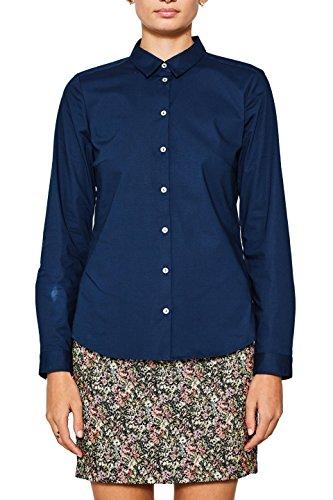 ESPRIT Damen 097EE1F029 Bluse, Blau (Navy 400), 40