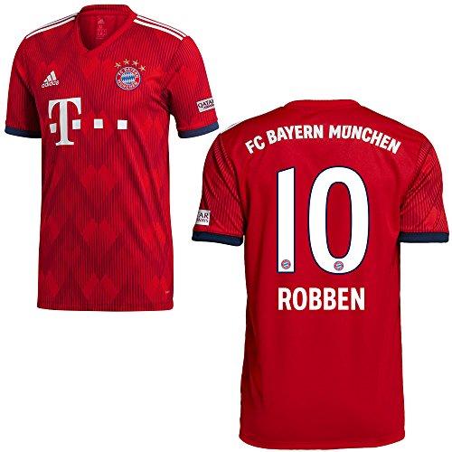 adidas FCB Heimtrikot 2018 2019 Herren Robben 10 Gr M