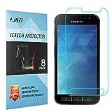 Galaxy Xcover 4 Display Schutzfolie, J&D Premium HD-Clear Schutzfolie für Samsung Galaxy Xcover 4 (8er Set)