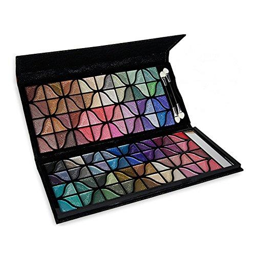 PhantomSky 100 Couleurs Fard à Paupières Palette de Maquillage Cosmétique Set - Parfait pour une utilisation professionnelle et quotidienne