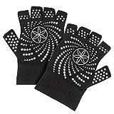 Gaiam Yoga-e Grippy Yoga Gloves - Colchoneta de yoga, talla única