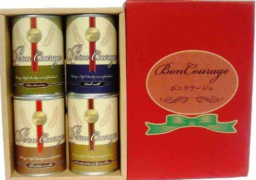 Okanetani Okaneya scatola 4 scatole da regalo inscatolato Bon Courage