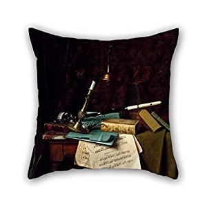Beautifulseason The Oil Painting William Michael Harnett   The Last Summer  Rose Throw Pillow Covers Of
