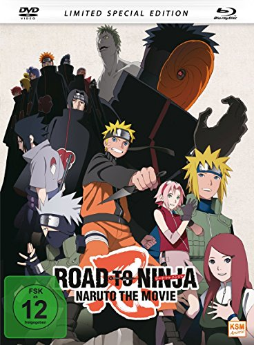 Road to Ninja - Naruto - The Movie (2012) - Mediabook  (+ DVD)