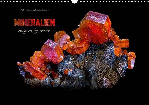 MINERALIEN designed by nature (Wandkalender 2019 DIN A3 quer): Eine Auswahl wunderschöner kristalliner Mineralen. (Monatskalender, 14 Seiten ) (CALVENDO Natur)