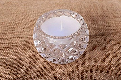 Fünf-licht-leuchter-glühlampen (Anvaong Bunte Farbe Kerze, Schale, Geburtstag Beichte Artefakt, Romantische Vorschlag, Kleine Spalte Leuchter, Aromatherapie Kerze, Schale, Weiß)