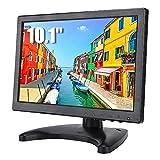 Bewinner 10.1 Pulgadas Monitor LCD 16:10 Monitor de Juegos Full HD con Soporte de Monitor...