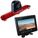 Maxxcount Set: Rückfahrkamera 3. Bremsleuchte + Stand-Alone Monitor 17,8cm (7 Zoll) für FIAT Ducato, Peugeot Boxer, Citroen Jumper (2008-2014)