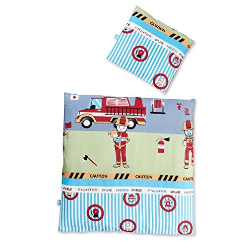 Lumaland Premium Baumwoll Baby- und Kinderbettwäsche mit YKK Reißverschluss