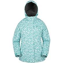 Mountain Warehouse Chaqueta de esquí Dawn para mujer - Impermeable a la nieve, abrigo de