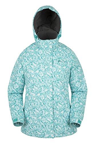 Mountain Warehouse Dawn gemustertes schneefeste Damen Ski-Jacke Hellgrün DE 48 (EU 50)