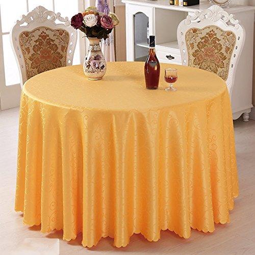 Imperméable nappe Nappe de l'hôtel Tissu restaurant Nappe de restaurant Salon avec nappe ronde Tissu Round Round Table (4 couleurs en option) (taille facultative) pour dîner ( Couleur : C , taille : 200cm )
