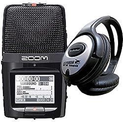 Zoom H2n Recorder + Keepdrum LP307 Kopfhörer GRATIS ++++++