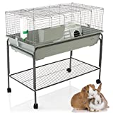 Cozy Pet Rabbit/Guinea Pig Indoor Cage with Stand 100cm suitable for Rat, Chinchilla and Small Animals Hutch Model: RB100-S + RB100-ST. (We do not ship to NI, Scot H & Isls, CI, IOM or IOW.)