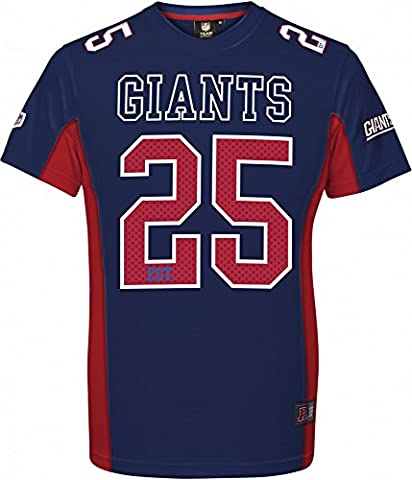 Majestic NFL NEW YORK GIANTS Moro Mesh Jersey T-Shirt,