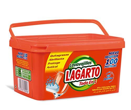 Lagarto Lavavajillas Máquina - 100 Pastillas