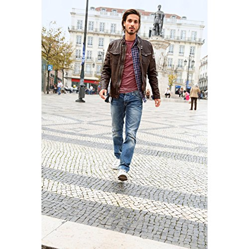 Pepe Jeans Herren Straight Fit Jeans used denim