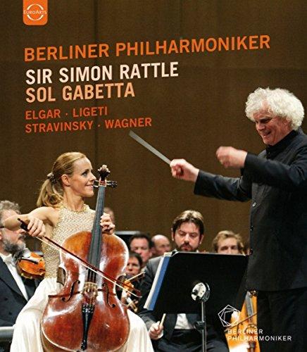 Sir Simon Rattle and Sol Gabetta - Baden Baden 2014 [Blu-ray]