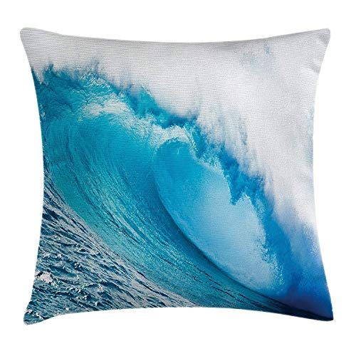 """Made of durable and soft polyester Fabric. The cover is Smooth. It's a zippered pillow case, with a zippered opening on the side. Two Sides Same Printed Size: 18"""" * 18""""(Approx. 45 * 45CM).Please Note: Just one pillow cover, not include insert. There ..."""