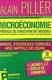Microéconomie - Manuel d'exercices corrigés avec rappels de cours
