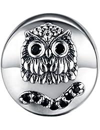 GW 925 Sterling Silber Tier Eule Charm Perle für Pandora Armband